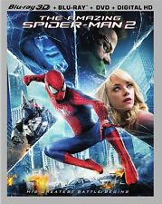 The Amazing Spider-Man 2 3D (Blu-ray 3D + Blu-ray + DVD)
