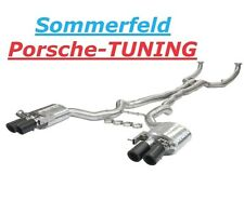 BMW M5 F10 V8 4,4 Klappenauspuff Valvetronic Exhaust + tail pipe Carbon Endrohre