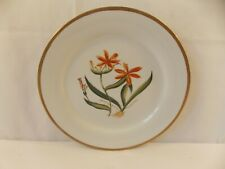Decorative Plate with Tiger Lilies 12""