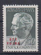 Yugoslavia Italy Trieste Vujna Tito 1953 MNH **