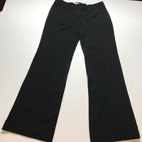 LOFT Marisa Trouser Black Dress Pants Size 4 Career Style Business Casual A778