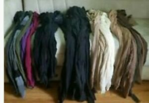 Lot of 50 Used Nylons for Crafts/Gardening