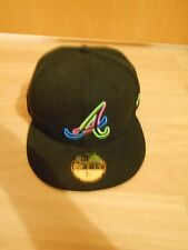NEW Era 59 FIFTY Atlanta Braves Cappello Taglia 7 1/4