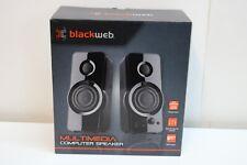 Blackweb Multimedia Computer Speakers