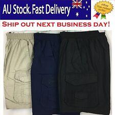 BNWT 6933 Men's Casual Dress Workwear, Work Pants,Cargo Short Pant, Size S - 4XL
