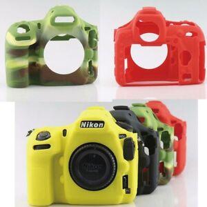 Body Cover Case Skin For Nikon D850 DSLR Video Bag Soft Silicone Rubber Camera