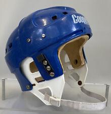Vintage Cooper SK2000 Hockey Helmet Blue Rare Adult Size Large Chin Strap Retro