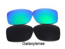Galaxie Verres De Rechange Pour Oakley Jupiter Squared Noir/Vert Polariser