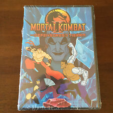 MORTAL KOMBAT VOLUMEN 2 - DVD PAL 2 - 62 MIN - CAPS 5 A 7 - NEW & SEALED NUEVA