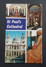 St. Paul's Cathedral-Sir D.F.Ewin-Jarrold-1970-Fine Condition-Card Covers