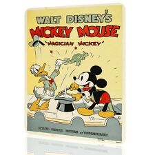 METAL SIGN MICKEY MOUSE Disney Classic Poster Retro Vintage #4 Children Decor