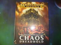 Warhammer Age of Sigmar-Battletome-Chaos Dreadhold-Hardcover-Sealed