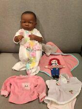 Berenguer Berjusa Newborn Black Baby Girl Doll lot