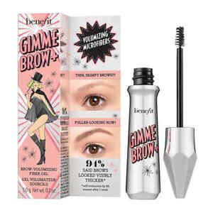 2 x Benefit GIMME BROW Eyebrow Volumising Fibre Fiber Gel 3 Medium Brown