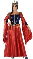Déguisement Femme REINE Médiévale XXL Adulte Princesse Moyen Age NEUF