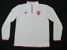 Indiana Hoosiers adidas Pullover Men's White Climalite Used M