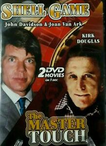 The Shell Game + The Master Touch DVD Kirk Douglas Movie John Davidson