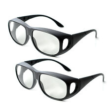 2Pairs IMAX Passive Extra Large Lens 3D Glasses for Cinema Movie
