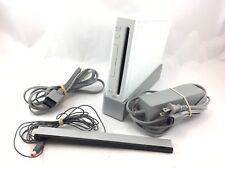 B5 Wii Console With Power & RCA Cables Stand & Sensor Bar Tested Working