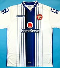 Carbrini WALSALL FC 2015/16 L Away Football Shirt Soccer Jersey Top Kit Saddlers