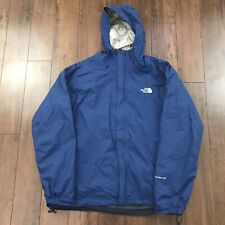 THE NORTH FACE HYVENT DT Mens Blue 3 In 1 Full Zip Hooded Rain Jacket Coat Sz L