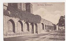 Southampton, Old Walls, Varsity Series Postcard, A982