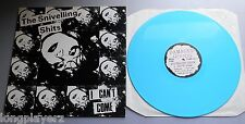 The Snivelling Shits - I Can't Come 1989 Damaged Goods Blue Vinyl LP with Insert
