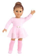 Practice Time - Ballet Doll Clothes, Leotard Leg Warmers Slippers