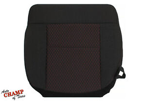 2007 2008 Ford F150 FX4 FX2 Sport-Driver Side Bottom Cloth Seat Cover Black Red