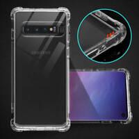 Pour Samsung Galaxy S10 S10e Plus A9 Étui de Protection Slim Coque Transparente