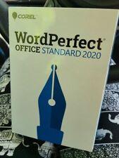 COREL WORDPERFECT OFFICE STANDARD 2020 WP2020STDEFMBAMC DVD PC Disc