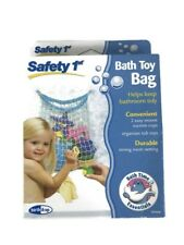 Safety 1st Bath Toy Bag 1 Bag Helps Keep Bathroom Tidy Organizer Tub Toy New