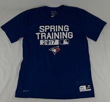 2017 Spring Training Toronto Blue Jays Nike Dri Fit Shirt Size Large Mens