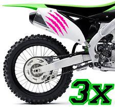 3x Monster Kralle Sticker Aufkleber Sponsor Motorrad Auto JDM OEM MOTORCROSS x