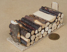 1:12 grandes log Pila Para El Fuego De Madera Casa de muñecas en miniatura Accesorio de jardín 318