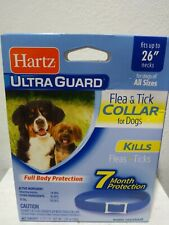 Hartz Ultraguard Flea - Tick Dog Collar 26� Blue Water Resistant