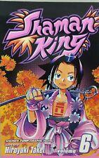 SHAMAN KING #6 SHONEN JUMP  MANGA COMIC ENGLISH BY HIROYUKI TAKEI  NEW UNREAD