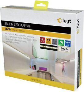 Lyyt | Do It Yourself led Strip Light Kit | Warm White - 5 Metre