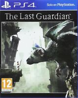 THE LAST GUARDIAN PS4 TEXTOS EN CASTELLANO ESPAÑOL NUEVO PRECINTADO PS4