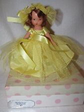 Vintage #87 Bridesmaid Bisque Nancy Ann Storybook Doll Pink Polka Dot Box
