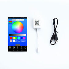 Bluetooth APP Controller Music Remote for 5~24V 5050 / 3528 RGB LED Strip Light