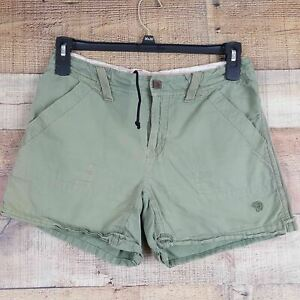 Mountain Hard Wear Women's Size 8 Olive Green Outdoor Shorts LB5