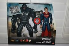 JUSTICE LEAGUE  CONTRE SUPERMAN VS DOOMSDAY  12INCH   2 PACK  MISB NEW