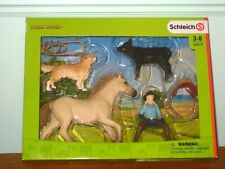 NEW Schleich Horse 42419a Ranch Cow Girl  Wild West NEW for 2018 World Farm