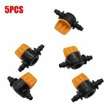 5pc 4/7cm Garden Tap Coupling Pipe Irrigation 2 Way Water Hose  Valve Connectors