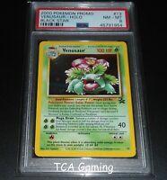 PSA 8 NM-MINT Venusaur # 13 WOTC Black Star Promo HOLO RARE Pokemon Card