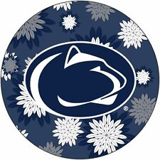 "PENN STATE 4"" FLORAL DESIGN DECAL-PENN STATE DECAL STICKER-NEW FOR 2016!"