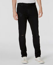 $99 American Rag Men 30W 30L Black Ripped Jeans Casual Slim Fit Denim Work Pants