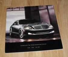 Mercedes S Class Brochure 2006 - 2007 MY S550 S600 S65 AMG USA Market