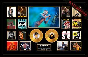 NEW! IGGY POP CHINA GIRL THE PASSENGER CANDY MINI GOLD VINYL RECORD LTD EDT